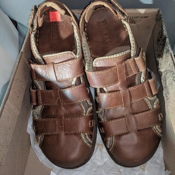 6f4f5a065 Men s Born Leather Sandals